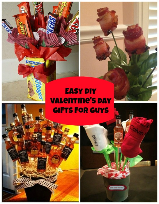 Easy Diy Valentines Day Gifts For Your Guy From Pinterest Good ...
