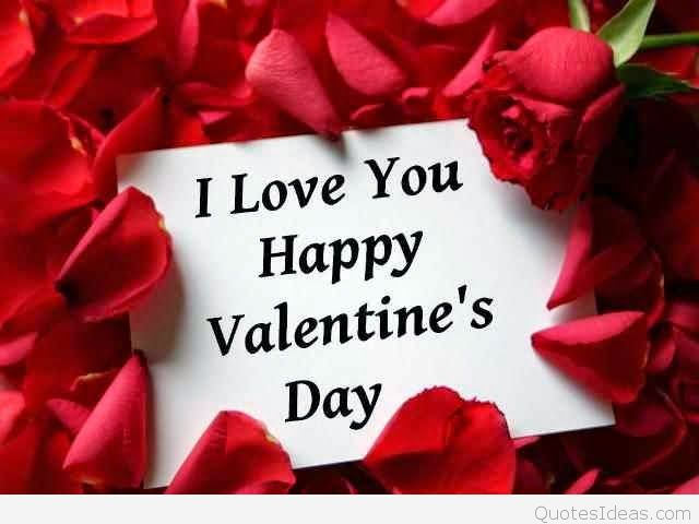 I love you Happy Valentine