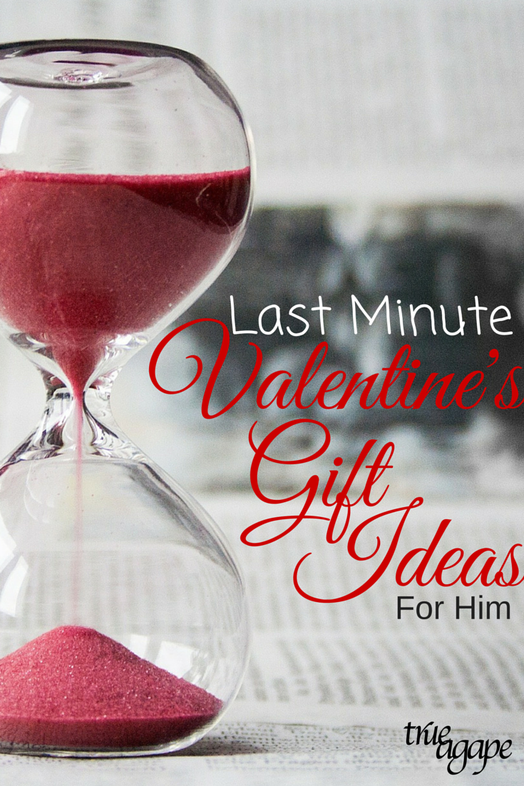 Last Minute Valentines Day Gift Ideas for Him | True Agape