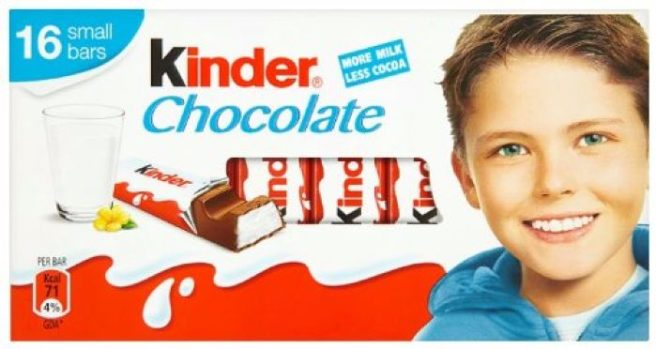 Remember the kid from the Kinder bars? Well, he is all GROWN UP ...