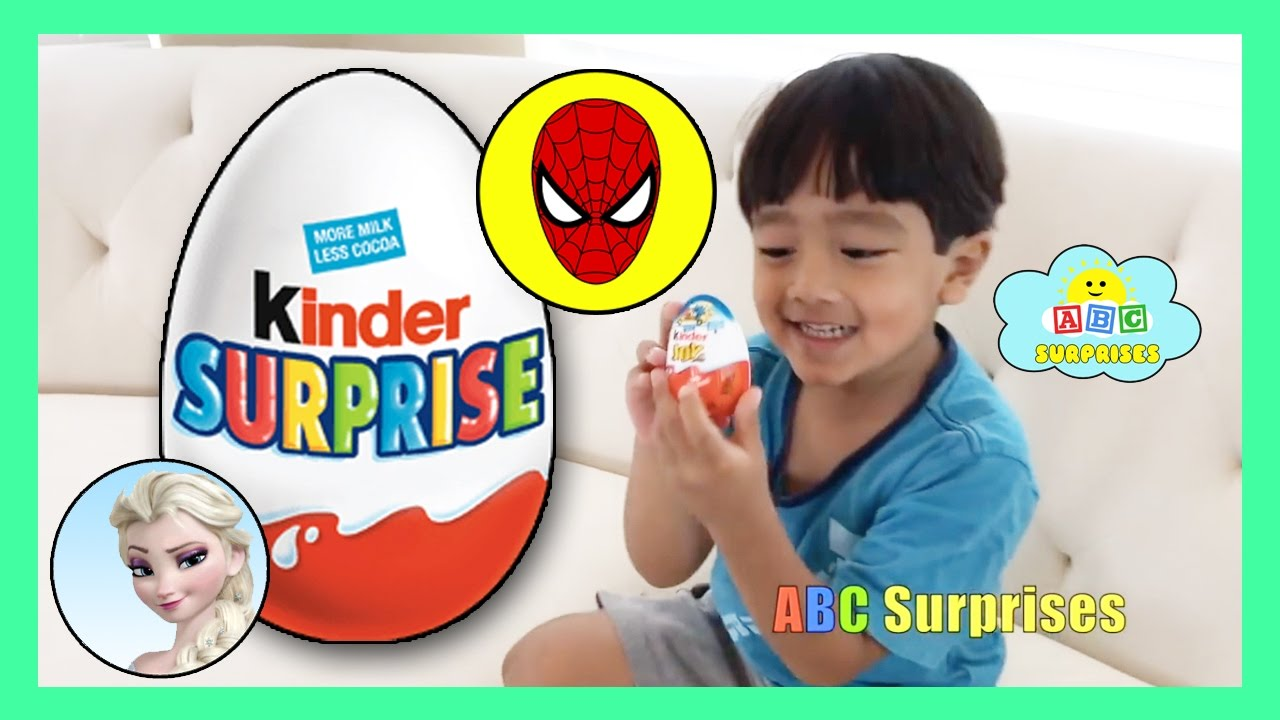 Best Kid Learning Compilation Video With KINDER CHOCOLATE EGG ...