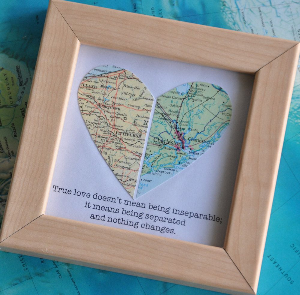 Personalized Gift for Boyfriend, Long Distance Relationship Gift ...